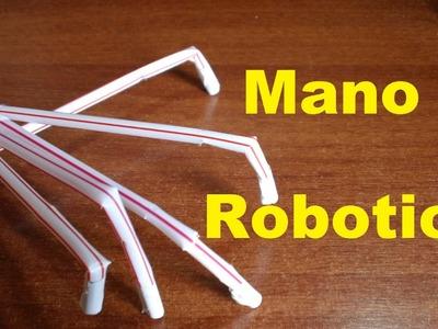 Mano Robotica Casera (Fácil de hacer) Robot hand