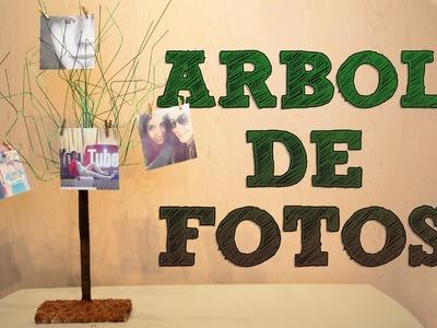 Manualidades: Árbol de fotos para tu habitación o para regalar | Manualidades para tu cuarto