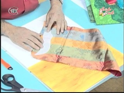 Manualidades Van Gogh - Geisha (芸者) en patchwork sin agujas