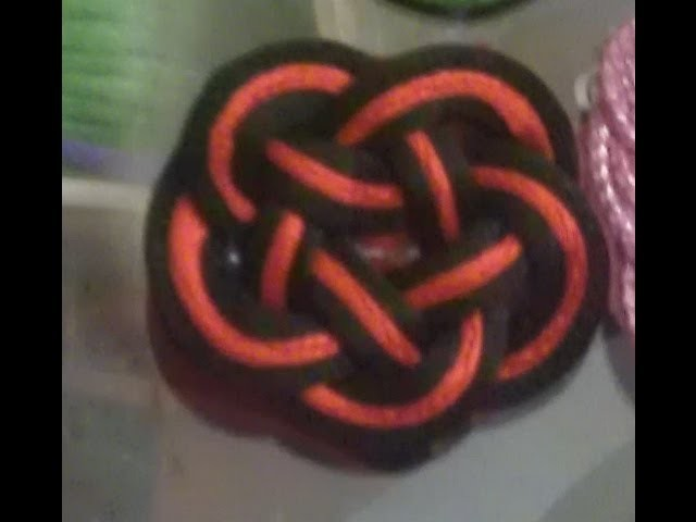 Pallete de cinco puntas. pentagram knot