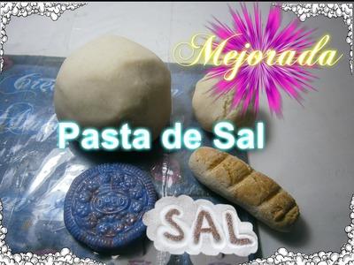 Pasta de Sal  Como Hacer pasta flexible.Fimo casero,Masa moldeable, Arcilla polimerica casera