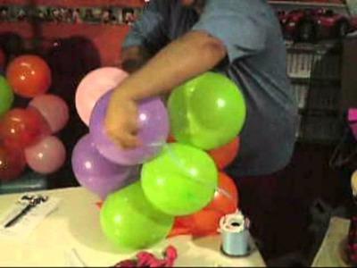 Payasito con globo sin base y con contrapeso