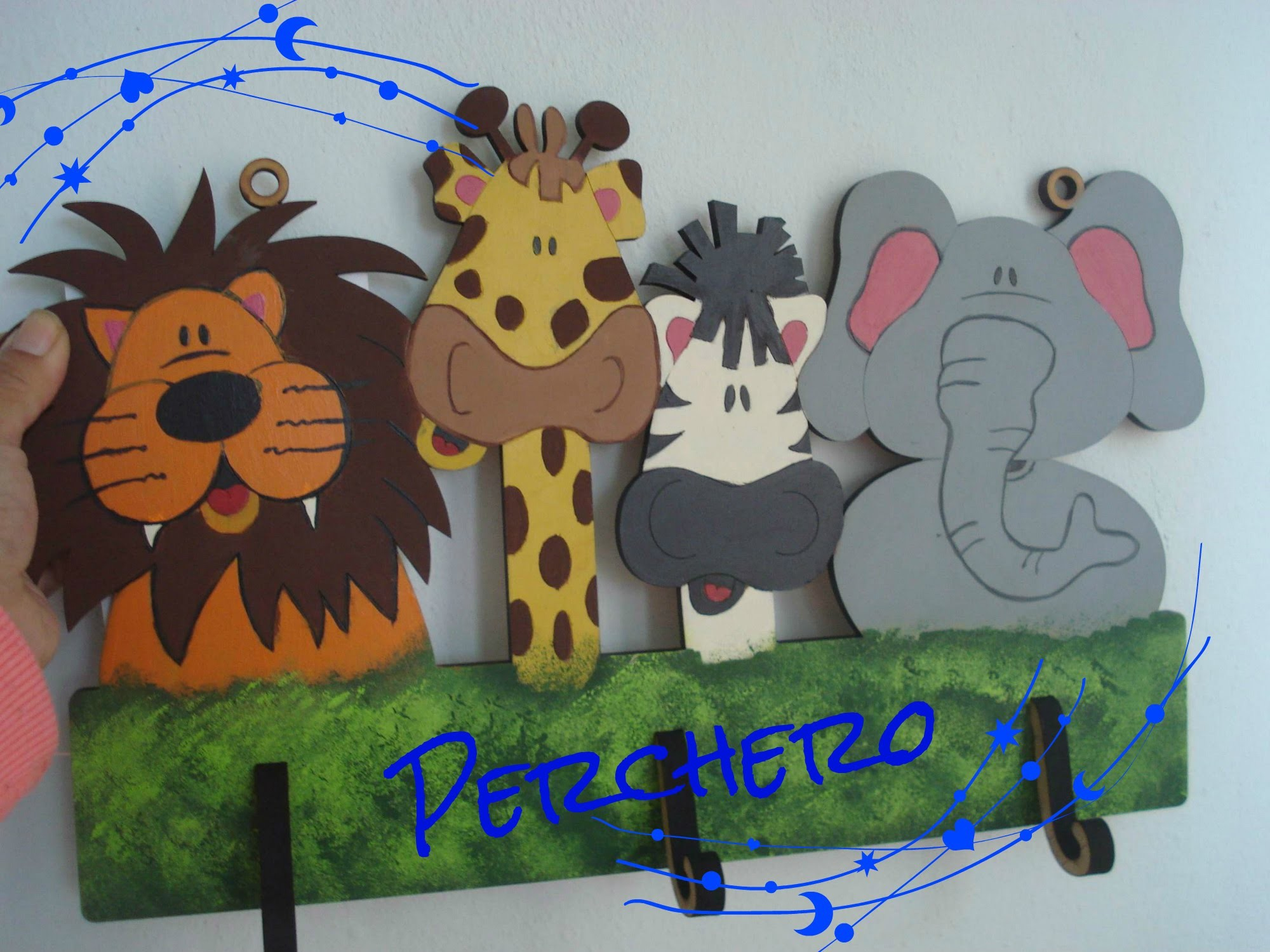 Perchero infantil. infant clothes rack