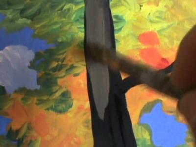 Pintar árboles de álamo temblón 12   Corteza