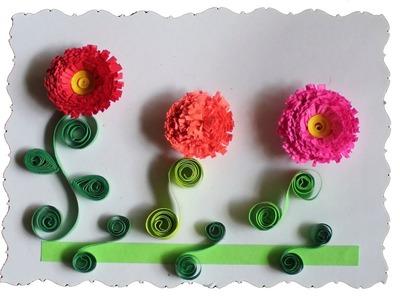 Tarjeteria en Filigrana (Quilling) Flores 2.2