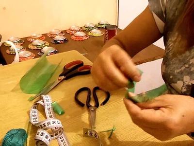 Trabas o ganchos  para el pelo recicladas