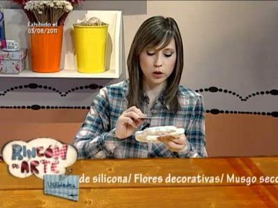 Aprenda a hacer un lindo y delicado cuadro de yeso para decorar su casa