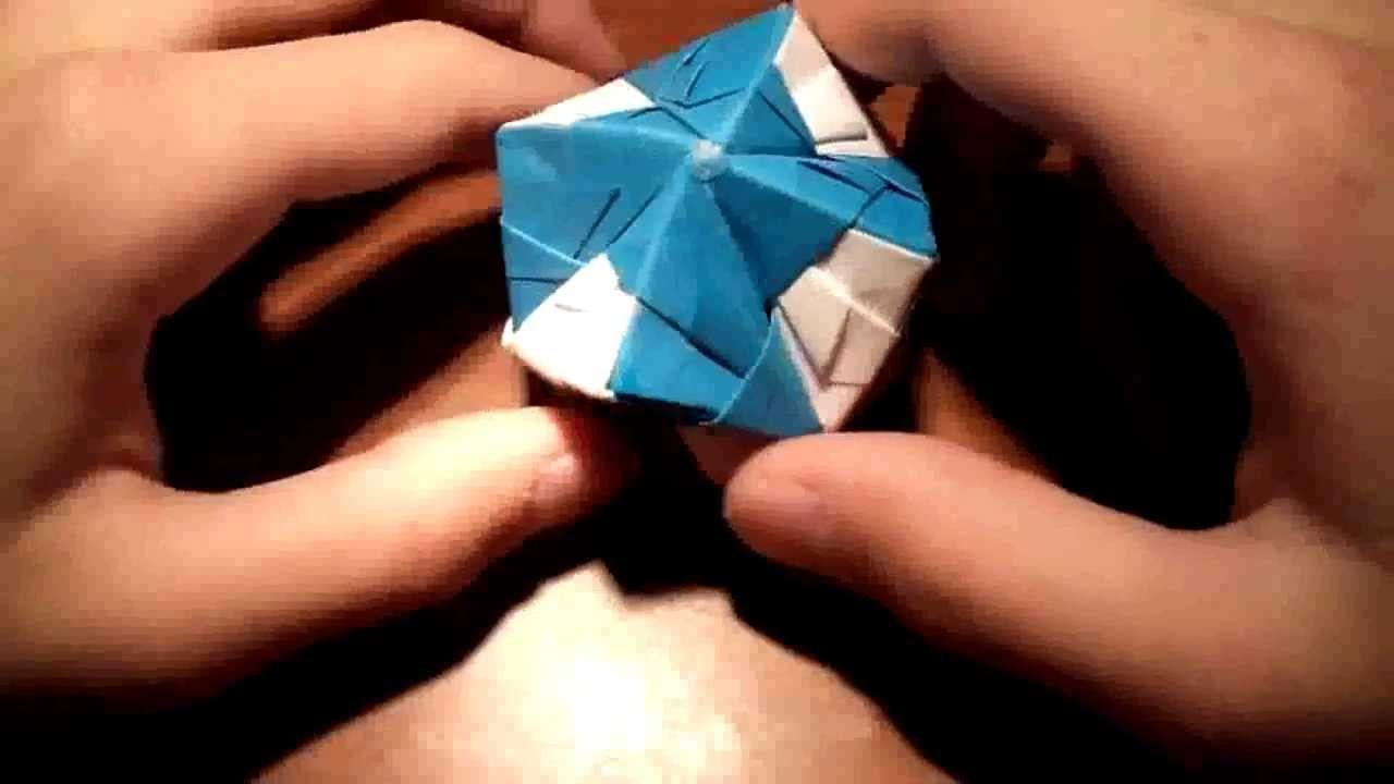 #Aprende Origami: Hacer una estrella de ocho puntas [Octaedro Estrellado] (Nivel Intermedio)