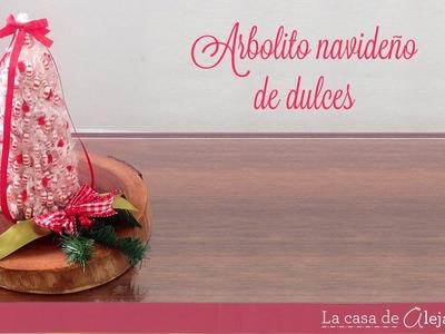 Ärbol de dulces para navidad DIY Candy tree
