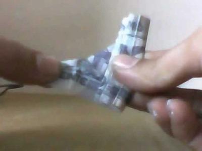 Billete de 20 pesos (Te amo) (Forma de  Corazon)