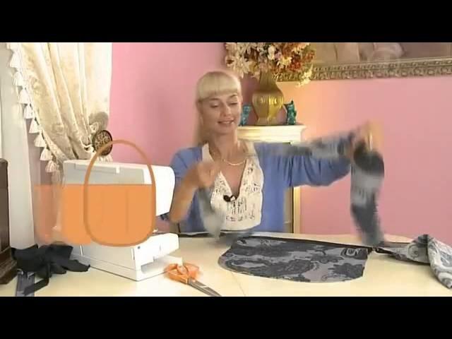 Como hacer una bolsa (bolso) de tela