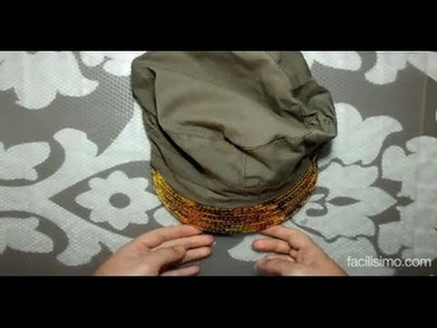 Cómo renovar una gorra desgastada con lentejuelas  | facilisimo.com