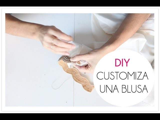 DIY customiza una blusa