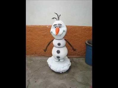 Frozen -replica del muñeco de nieve de nombre olaf
