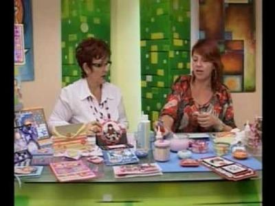 Habil&Dades Con Raquel - Alejandra Abasalo 3.4 Jabón, Tarjeta y Bolso Decorado con Papel