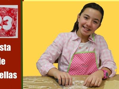 Receta de pasta fresca divertida
