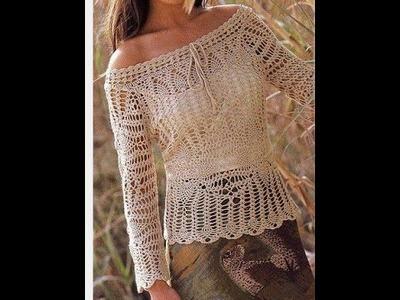 Tejidos a crochet Blusas Faldas Sacos
