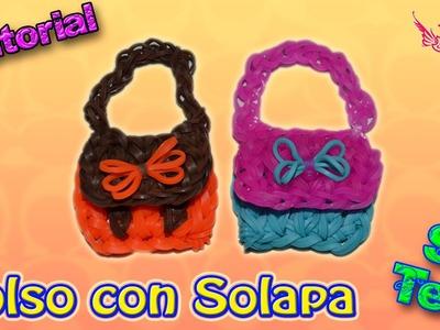 ♥ Tutorial: Bolsito en 2D Con Solapa de gomitas (sin telar) ♥
