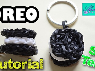 ♥ Tutorial: Galleta Oreo de gomitas (sin telar) ♥