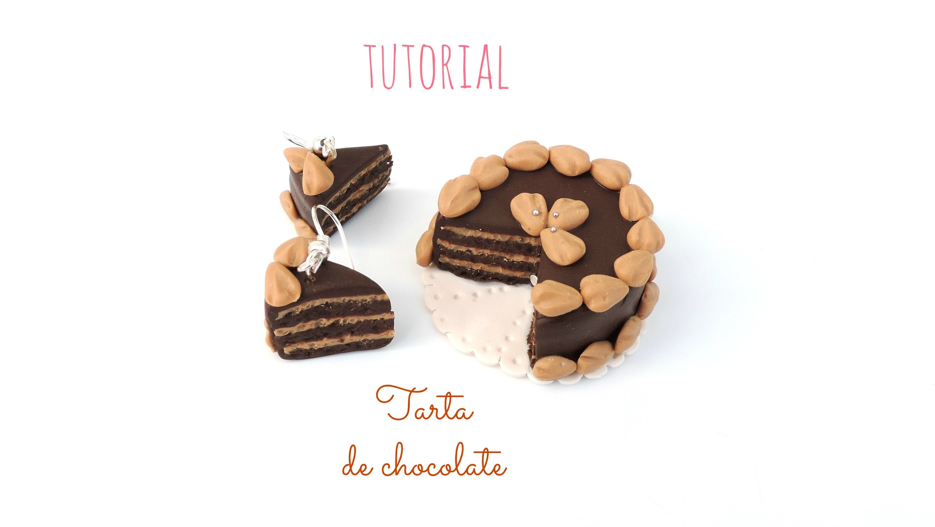 Tutorial: Tarta de chocolate de fimo
