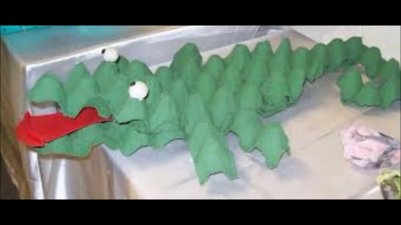 50 Ideas de juegos y juguetes con materiales reciclados