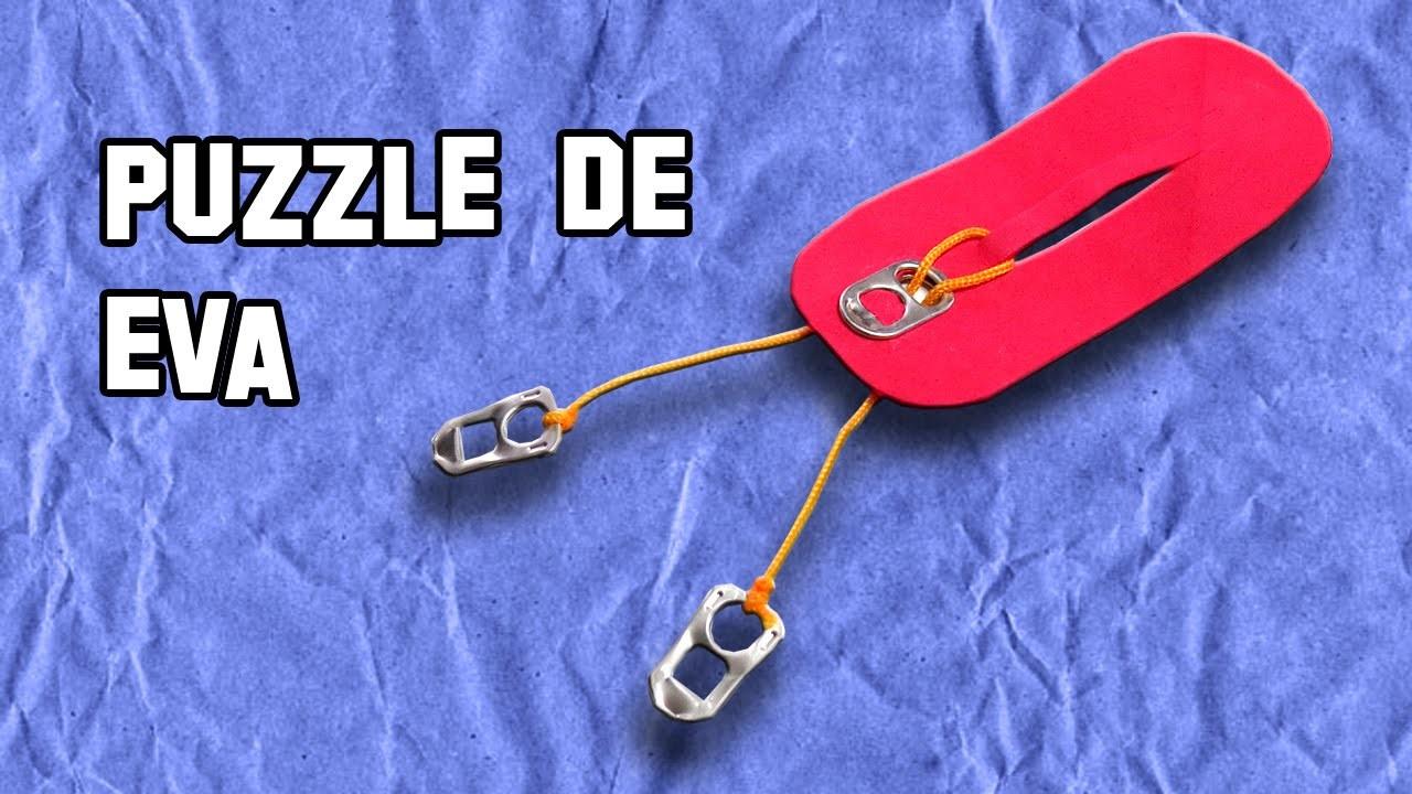 Como Hacer el Puzzle de Goma Eva | How to Make the Puzzle of Goma Eva