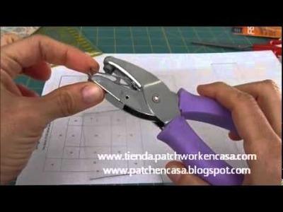 Cómo hacer Plantillas de Patchwork y marcar el punto de encuentro de costuras