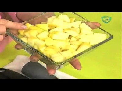 Cómo hacer relleno de manzana