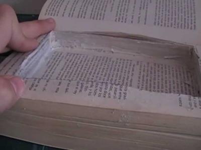 Como Hacer un Escondite Secreto en un Libro!
