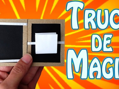 Como Hacer un Sorprenderte Truco de Magia (El Libro Mágico )