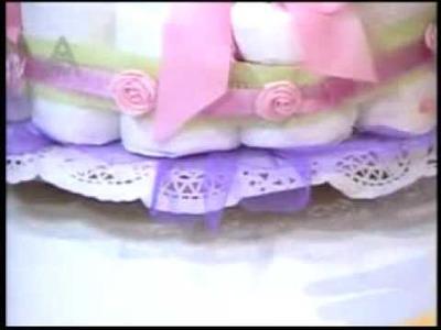 DETALLESMAGICOS con MIMILUNA, torta de pañales 2
