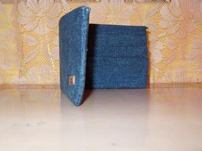 DIY Cómo hacer una billetera para el Día del padre