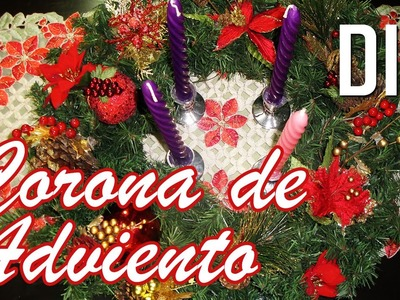 DIY - Corona de Adviento | Decoración | Navidad