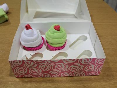 DIY: Cupcakes de body de bebe