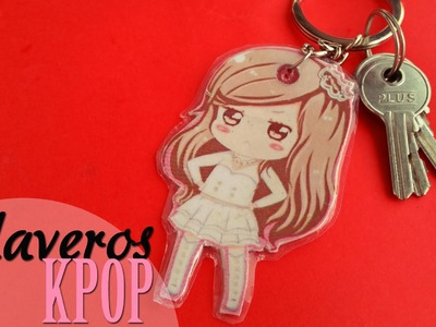 DIY: Llaveros Kpop. Kpop keychains -SNSD.JESSICA-