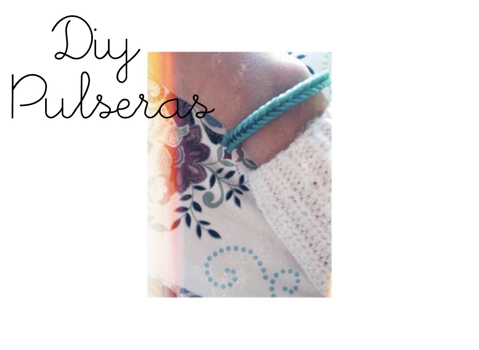 DIY | Pulseras De Gomitas (bracelet) ☾