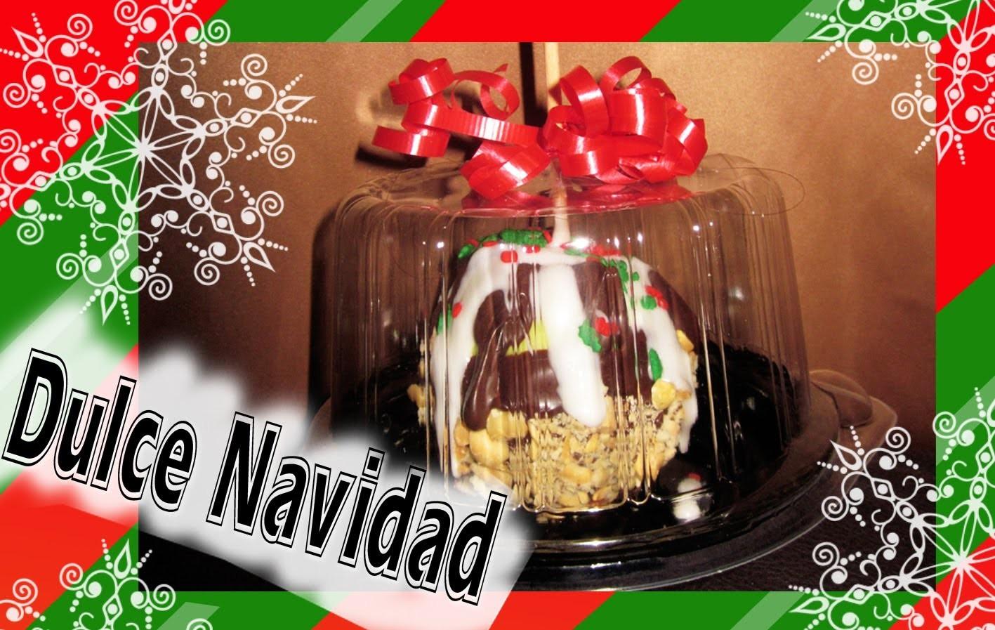 ✯ Haz Manzanas con Cobertura de Chocolate para regalar en NAVIDAD!! ✯