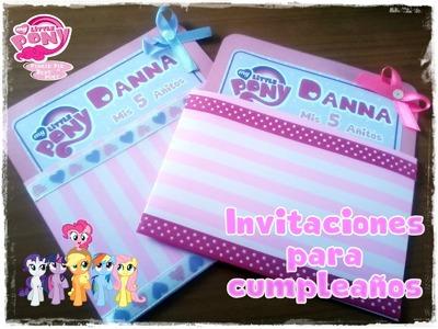 Invitaciones para cumpleaños. CorelDraw x5
