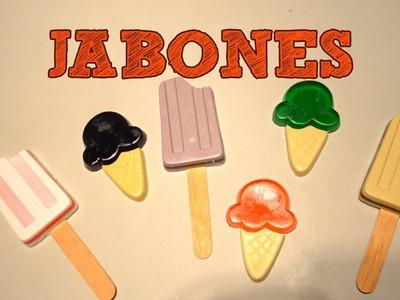 JABONES EXFOLIANTES DECORATIVOS MUY FACIL | Ideas apra regalar | Exfoliante corporal