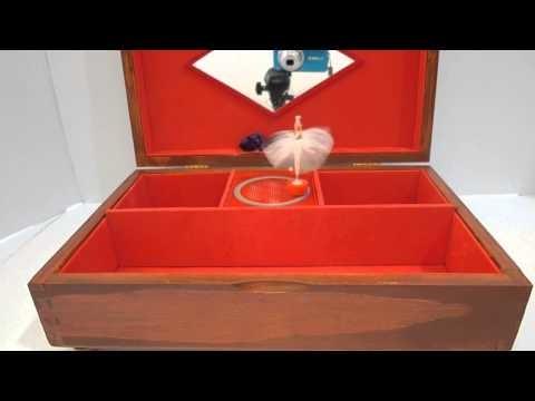 Joyero Musical con Bailarina - Ballerina Music Box