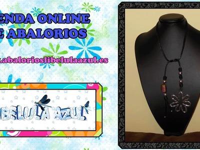 Manualidades bisuteria DIY - collar III - corbata