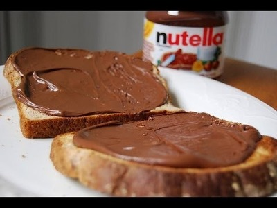 Nutella casera de chocolate. How to make Nutella. Ecodaisy