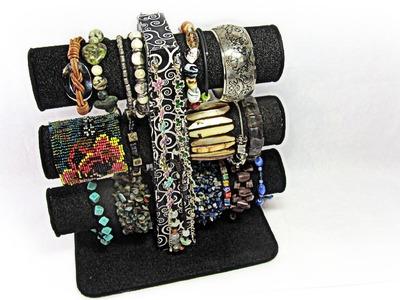 Organizador de pulseras. Bracelets stand.