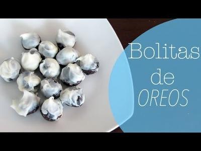Receta:BOLITAS DE OREO!!