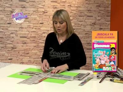 Silvina Buquete - Panera con estilo de cestería