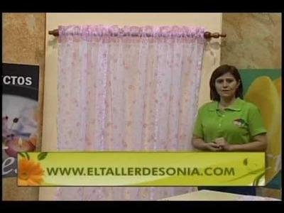 Sonia Franco. Programa Nuestra Casa. Persiana Veneciana  1.5