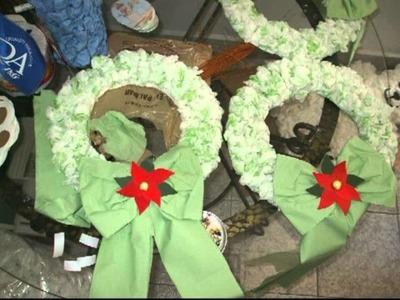 Arbol de Navidad QA 2011 con papel reciclado