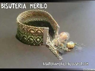 Bisuteria hecha a mano MERILO Julio 2012. Pulseras, collares, anillos, pendientes y conjuntos