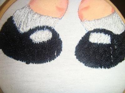 BordadoFantasia Zapatos y calcetas de chilindrina marimur 458