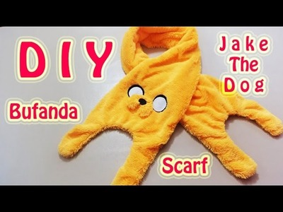 BUFANDA | JAKE THE DOG | ADVENTURE TIME. HORA DE AVENTURA | SCARF | DIY - YuureYCrafts